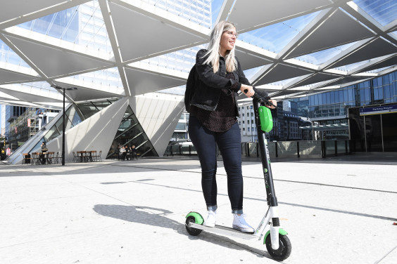 Almost 10 000 e-steps, scooters, and shared bikes in Brussels