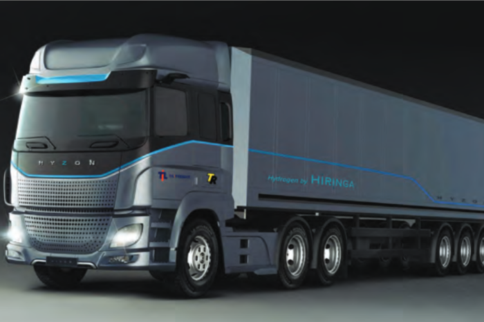 1 500 Dutch-built Hyzon fuel cell trucks for New Zealand