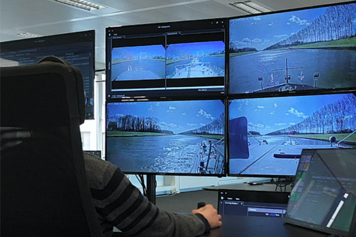 Semi-autonomous ship sails between Antwerp and Zeebrugge