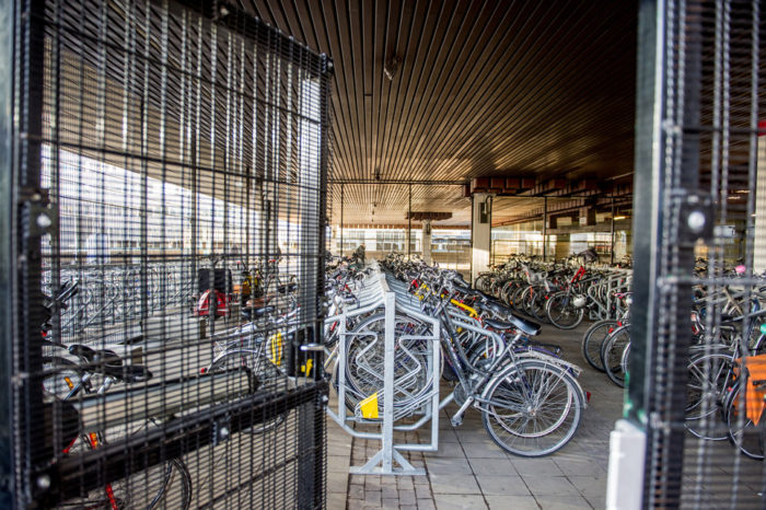 Brussels Master Plan for 10 000 extra safe bicycle parking spaces