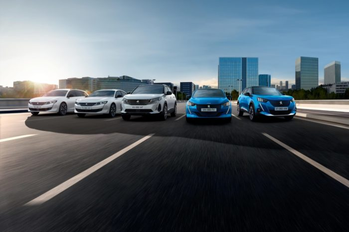 Whole Peugeot's model range electric by 2023