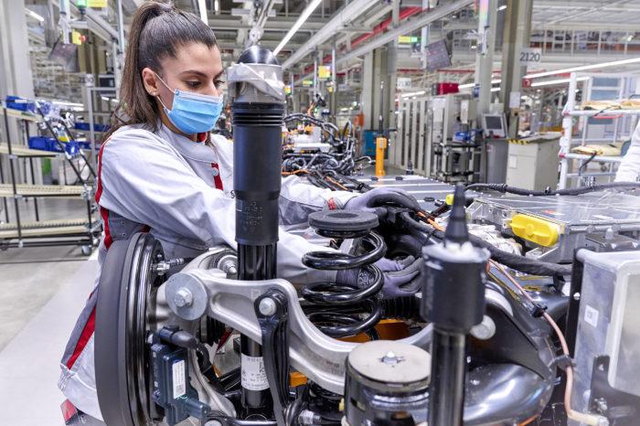 Audi starts production of Q4 e-tron in Zwickau