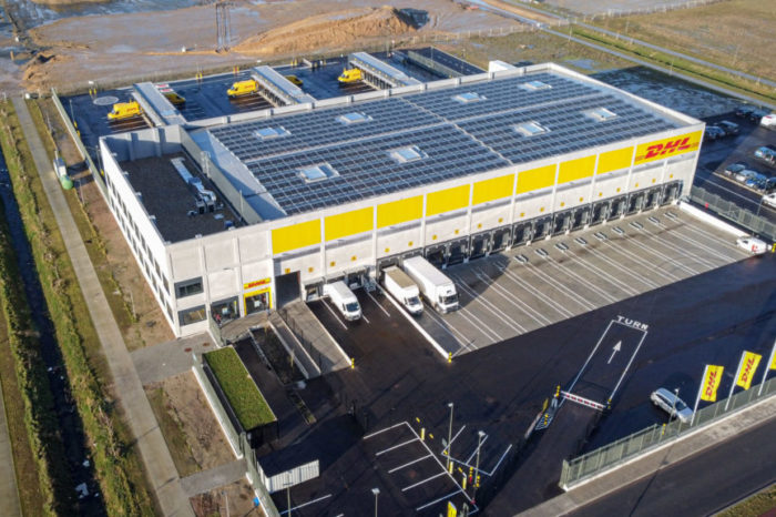 DHL Express to open largest distribution center in Antwerp