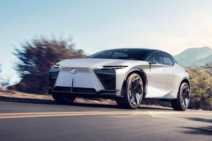 LFZ concept foreshadows Lexus' electric future
