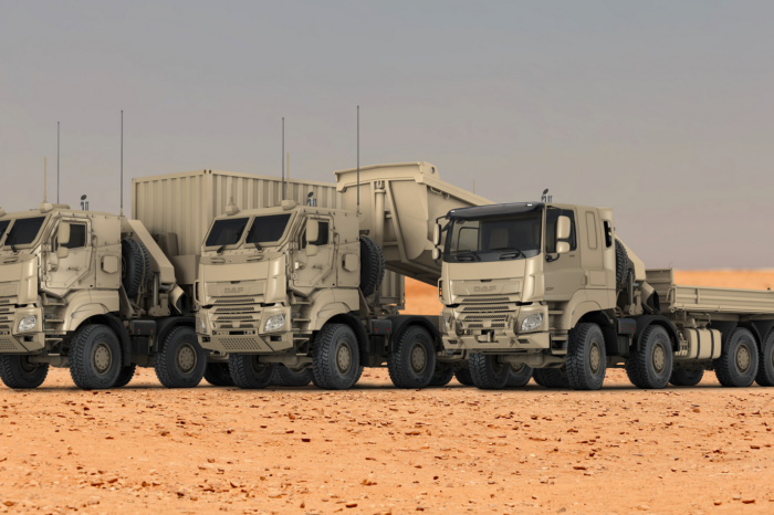 DAF builds 879 trucks for Belgian army