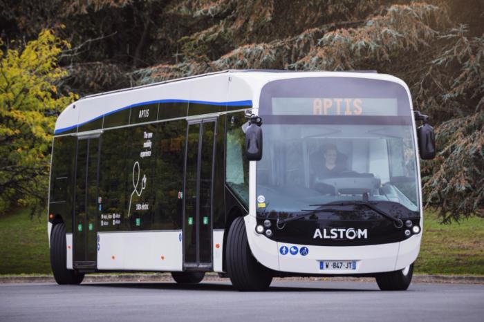 Alstom tours Flemish cities with Aptis e-bus