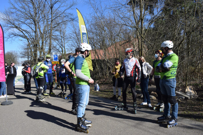 First 90-km long rollerblade route links Genk and Hasselt