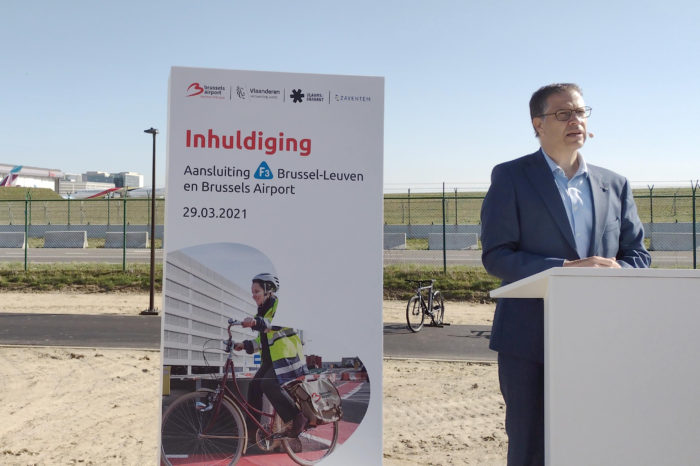 New bicycle highway to Brussels Airport inaugurated