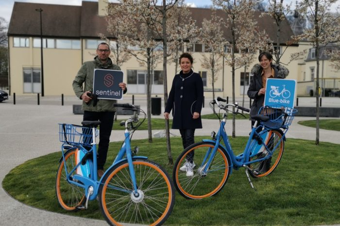 Shared Blue-bikes get smart locks