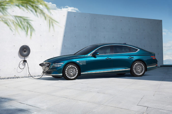 Genesis unveils first production EV with Electrified G80