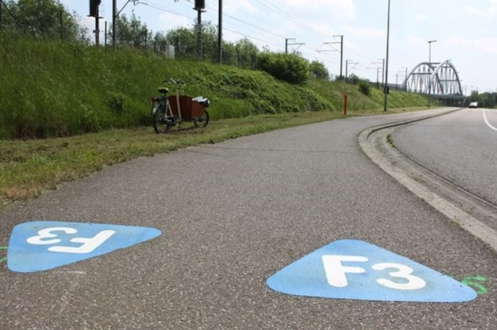 Limburg bicycle highway F74 course finally defined