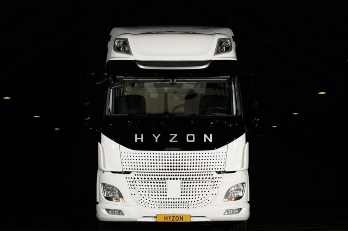 Hyzon launches leasing of heavy fuel cell trucks in EU