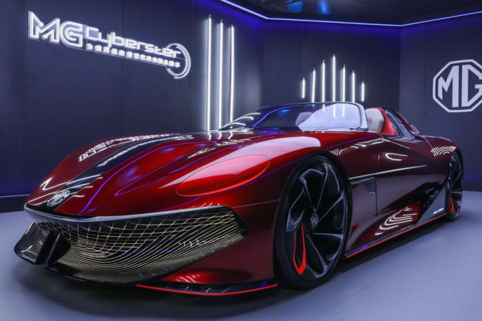 MG shows Cyberster concept car