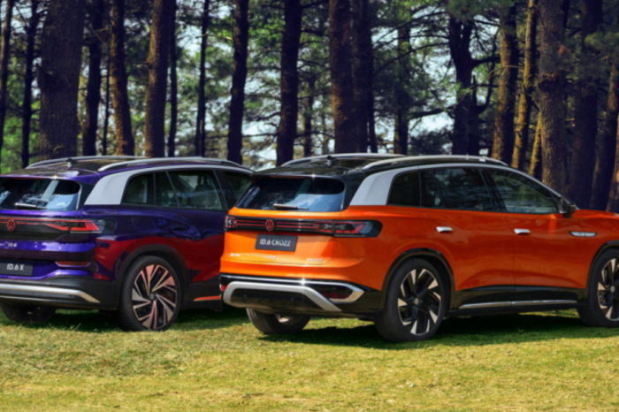 VW's ID.6, a seven-seater SUV only for China
