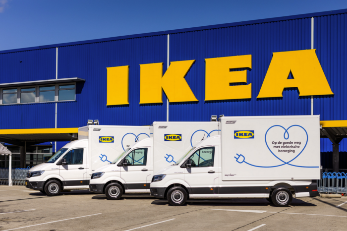 Amsterdam second city IKEA delivers fully electric