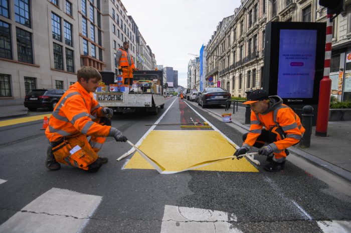 800 000 euros extra for cycling infrastructure in Brussels