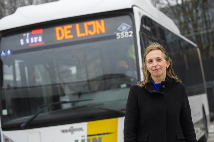 Ann Schoubs wants De Lijn to be more customer-oriented
