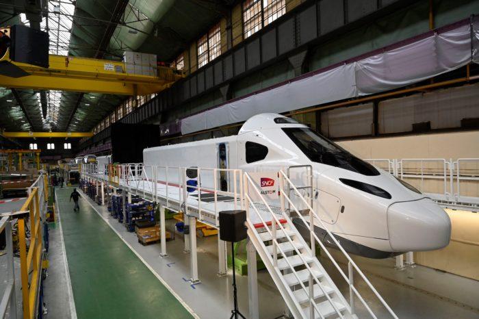 Alston showcases new TGV M's nose design