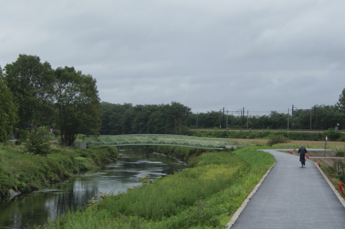 Oldest bicycle highway (F1) in Flanders gets makeover