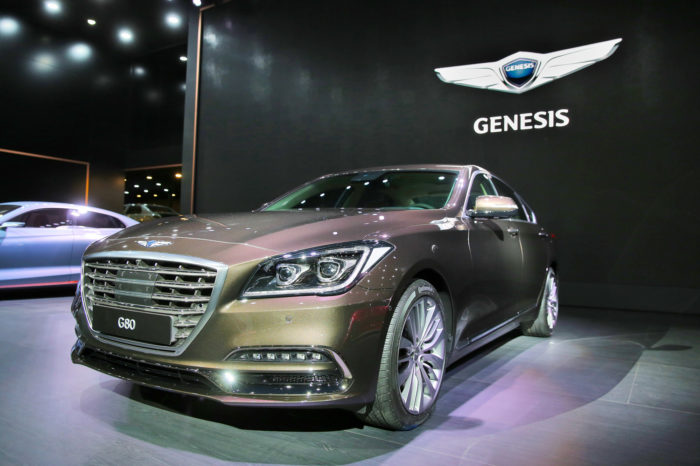 Genesis comes to Europe in the summer of 2021 (update)