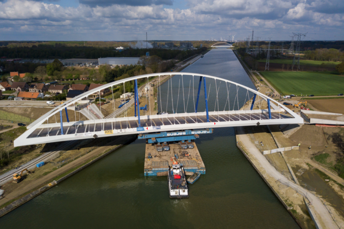 New bridge over Albert Channel in Meerhout ready in September