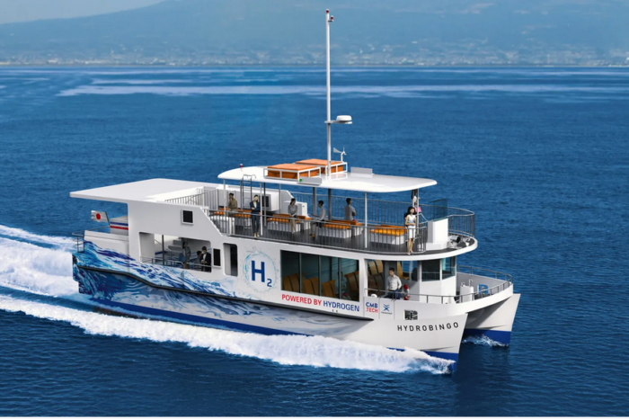 Japanese marine engine manufacturers join forces in hydrogen