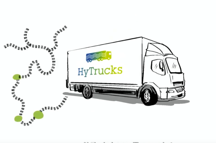 HyTrucks: 300 fuel cell trucks and six H2-stations for Antwerp Port