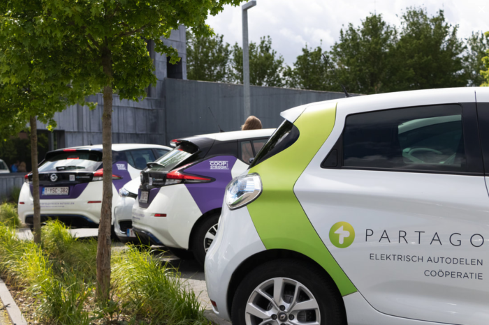 Citizen co-op CEDAN puts 101 shared EVs on Flemish streets