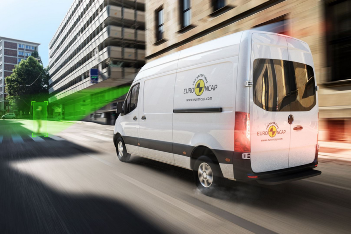 EuroNCAP: 'commercial van's safety lags behind'