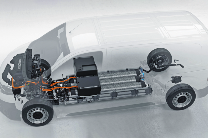 Opel unveils Vivaro-e fuel cell van