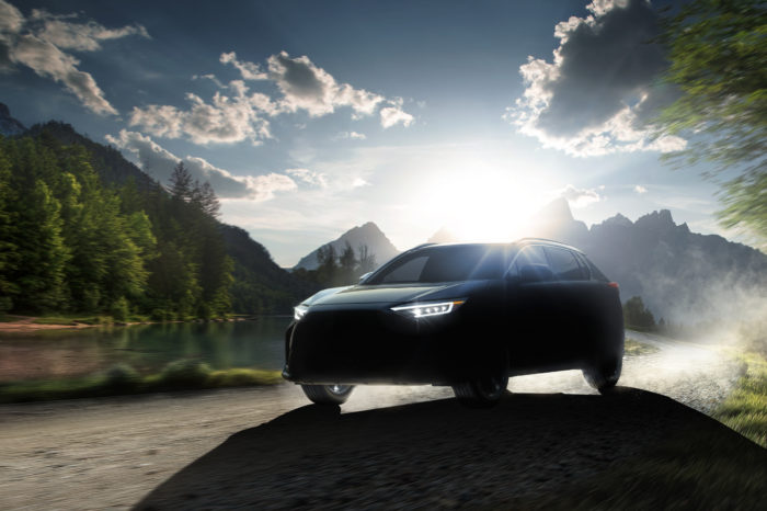 Subaru's first all-electric car is an SUV called Solterra