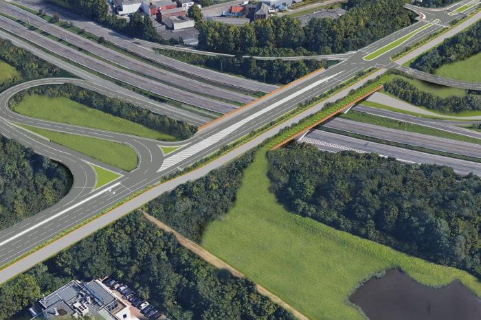 Work starts on new Hector Henneau bridge in Zaventem