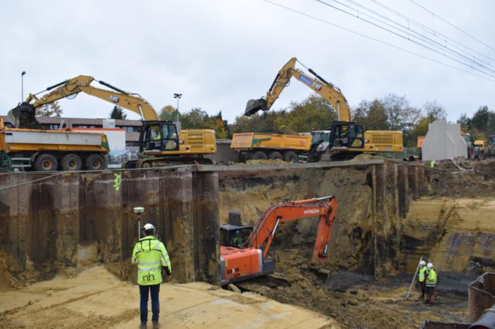 Railway crossings project in Diepenbeek enters new phase