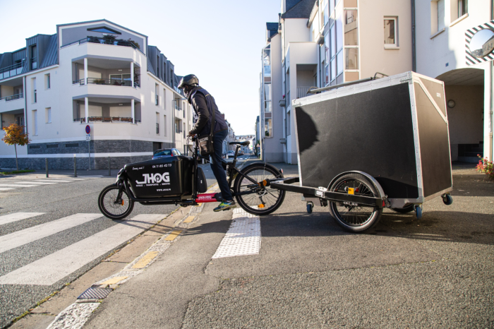 Flanders wants to boost goods transport by bike