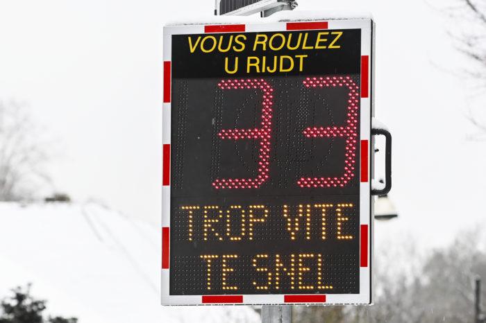 Belgians disregard traffic rules most of 11 EU countries