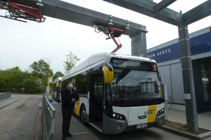 Another delay in e-bus saga De Lijn