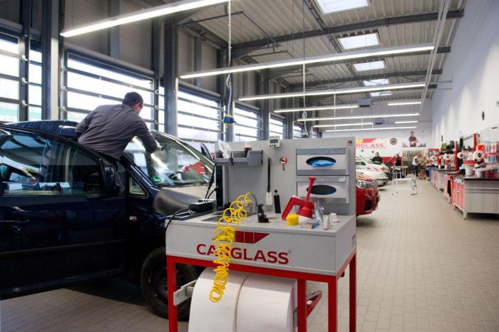 Carglass gets rid of Belgian body shop activity