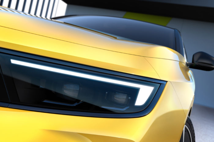 First glimpse at the next generation electric Astra