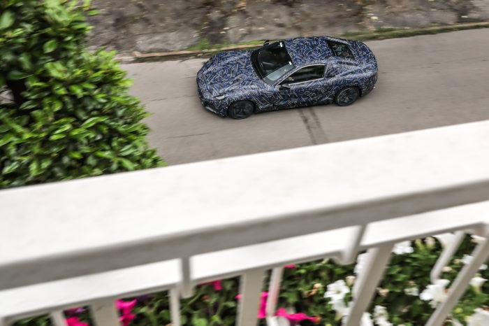 First glimp of electric Maserati GranTurismo