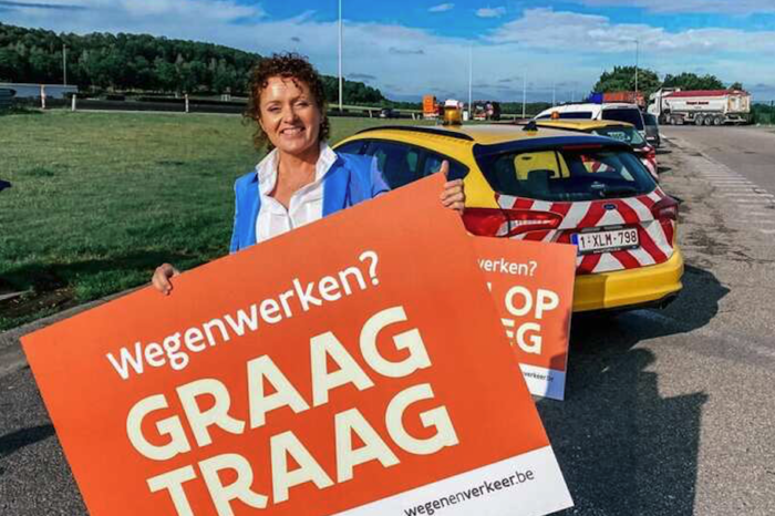 Road works safety: two in three Belgians 'forget' to slow down