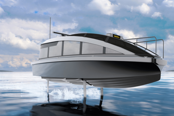Candela launches foiling water taxi