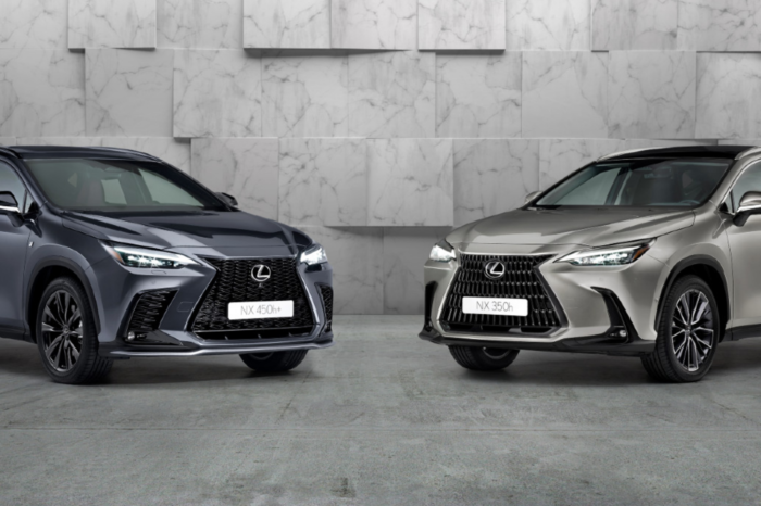 New Lexus NX is HEV and PHEV