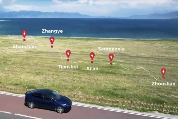 Tesla spans 5 000 km 'Silk Road Supercharger Route'