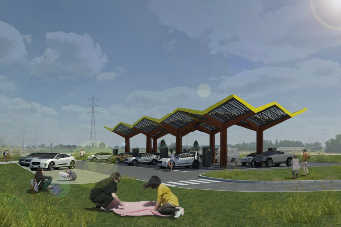 Fastned: six new stations on West-Flemish industrial sites