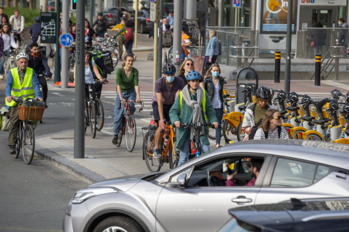 Brussels: Bicycle use continues to increase and diversify