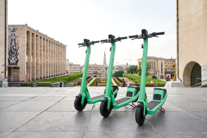 Bolt comes to Brussels with 1 100 e-scooters