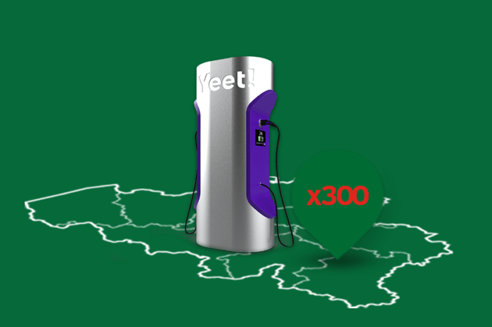 Yeet! to bring 81 fast-chargers in Brussels and Wallonia