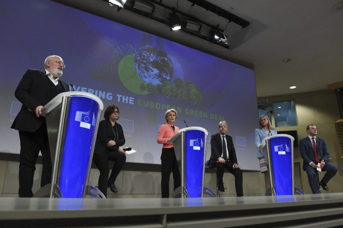 EU Commission: world's most ambitious package of climate laws
