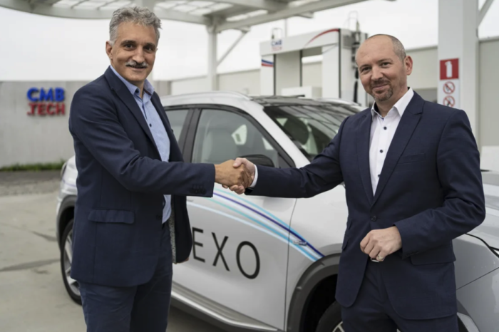 WaterstofNet gets Hyundai Nexo keys