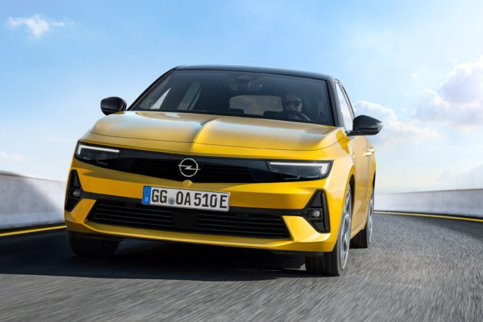 All-new Astra is for the first time electrified